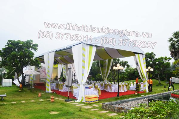 Cho thuê khung rạp chất lượng cao tại Ngàn Thông
