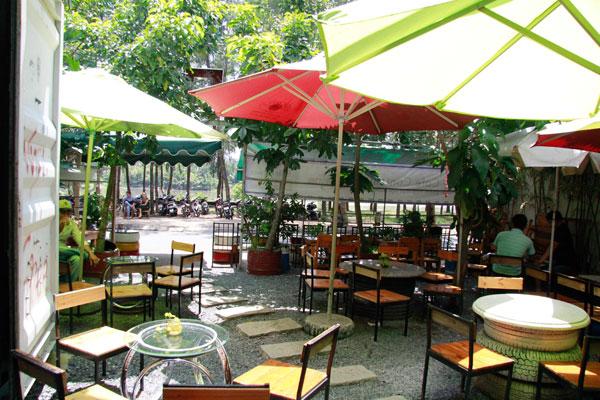 Cho thuê dù cafe tại Ngàn Thông