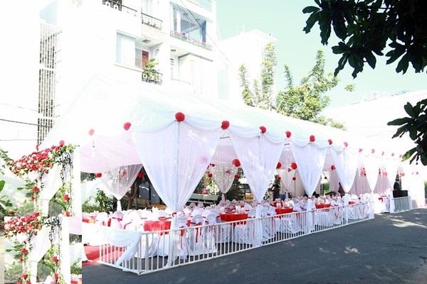 Rạp đám cưới chất lượng cao