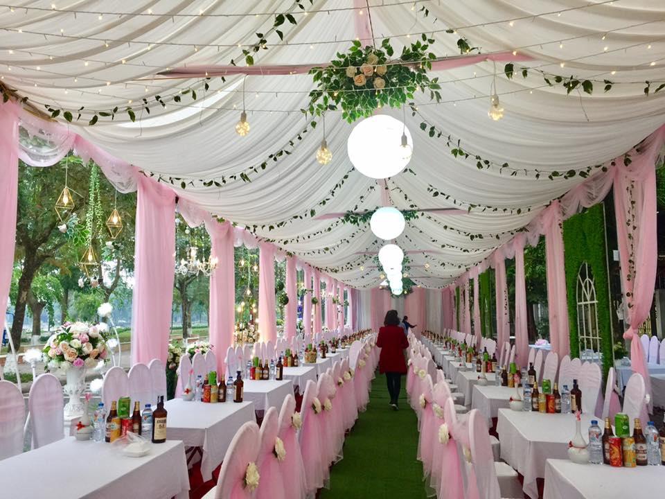 Nhà bạt cho đám cưới
