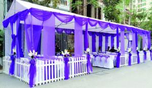 Lợi ích của nhà bạt đám cưới đối với lễ cưới